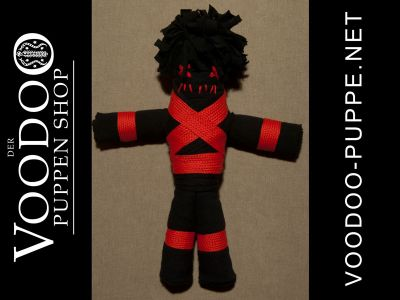 Venom Doll black/red