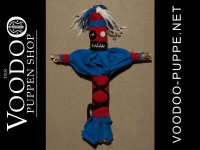 Grudge Doll blue/red